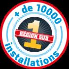 + de 10000 installations